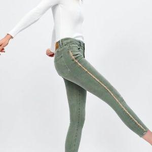 Zara Embellished Jeans